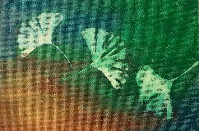 gingko leaves lisa fulmer