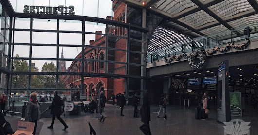 Christmas at St. Pancras
