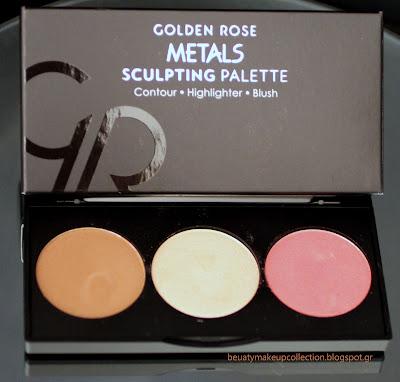 golden rose sculpting pelette review