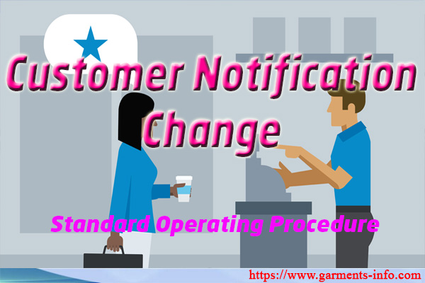 SOP: Customer Notification on Change | Garments-Info