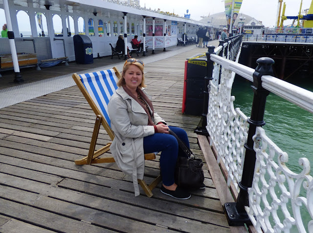 Deckchairs on Brighton Pier - things to do on a day out in Brighton
