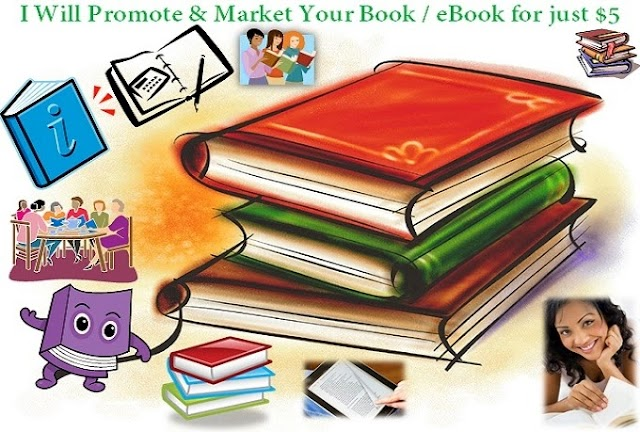 "I Will ""Promote Your Book"" for $5.00"
