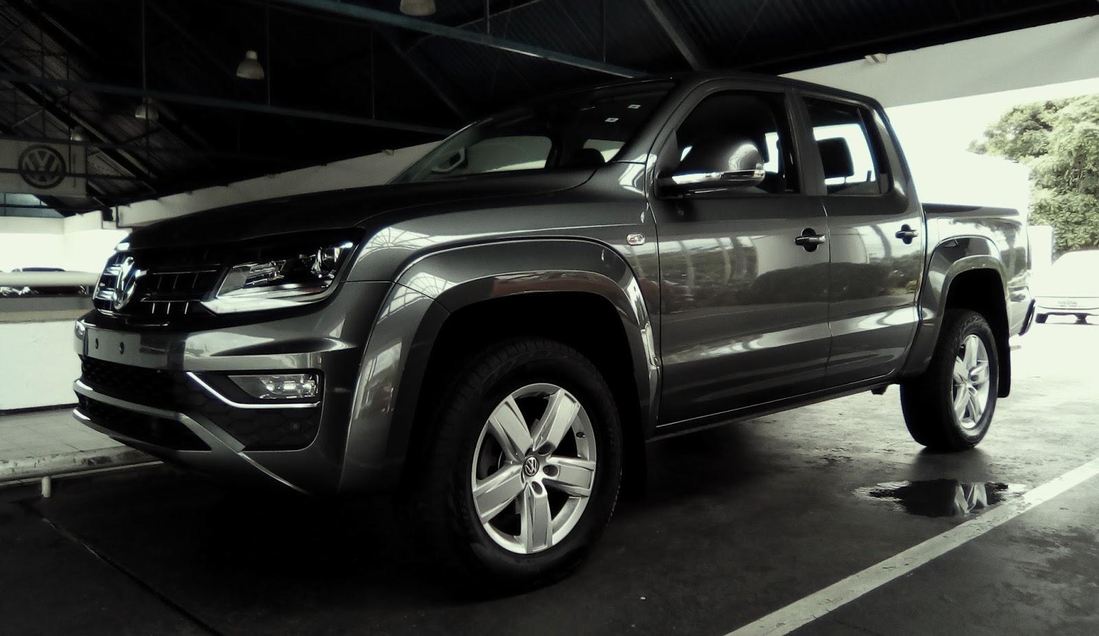 Volkswagen Amarok entrega muita força, conectividade e prazer ao dirigir