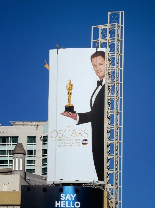 Neil Patrick Harris 87th Oscars billboard