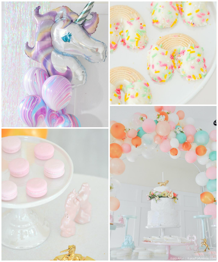 Unicornio party | Fiesta infantil con unicornios | Deco-party by Habitan2 | Eventplanner Habitan2 | Decoración de eventos handmade a precios low cost by Habitan2