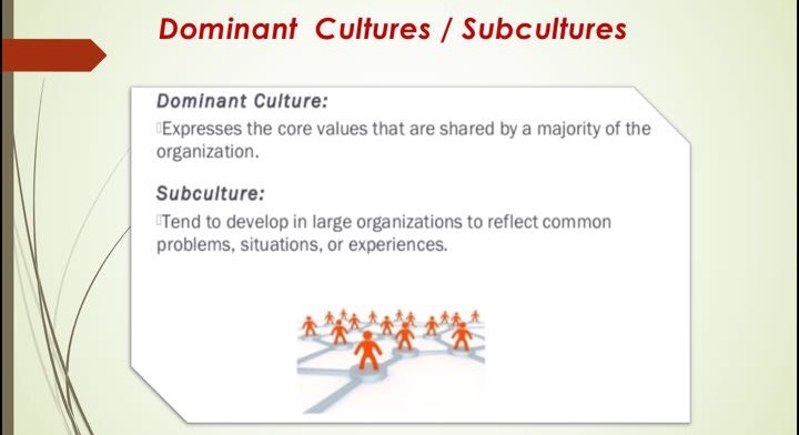 organisational culture and sub cultures Start studying chapter 15: organizational culture and innovation mgt 420 gcu learn vocabulary, terms, and more with flashcards, games, and other study tools.