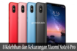 Review, Spesifikasi, 8 Kelebihan dan Kekurangan Xiaomi Note 6 Pro