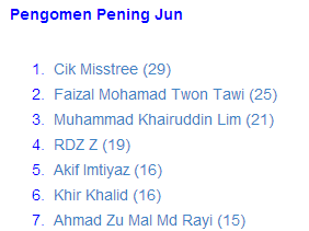 Pengomen Pening Jun 2014