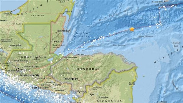 Magnitude 7.6 earthquake strikes off Honduras coast: USGS