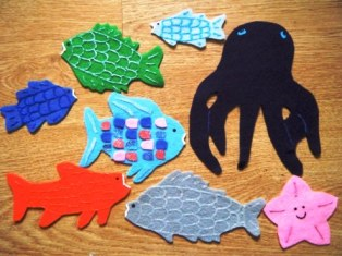 Rainbow Fish Craft Ideas Printable Template