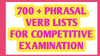 LIST OF COMMON PHRASAL VERB PDF -FREE DOWNLOAD