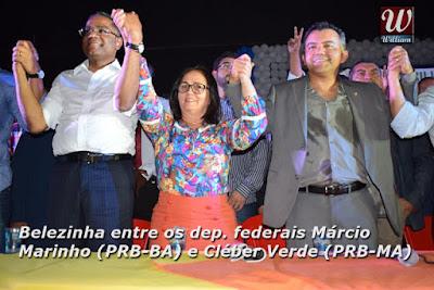 Ducilene Belezinha e Comitiva participam do 10º Encontro Estadual do PRB em São Luis.