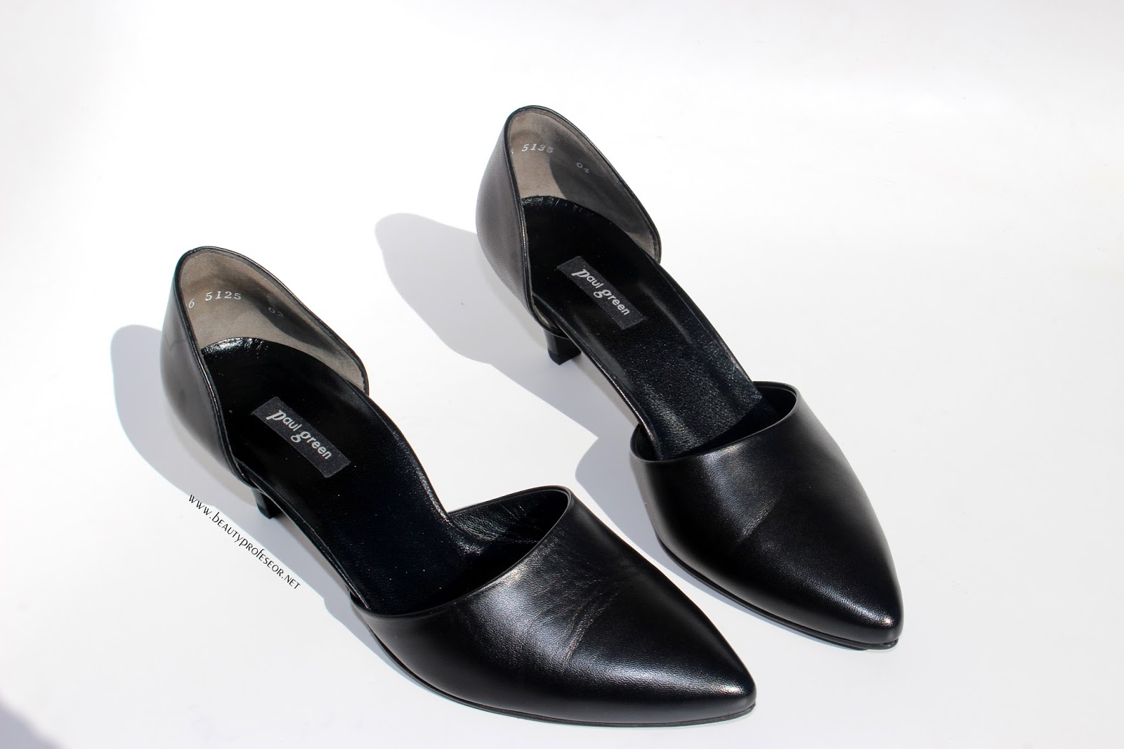 0593332f310 This slim pair of near-flats--which run true to size--have soft and supple  leather and a darling kitten heel...all at once chic and vintage