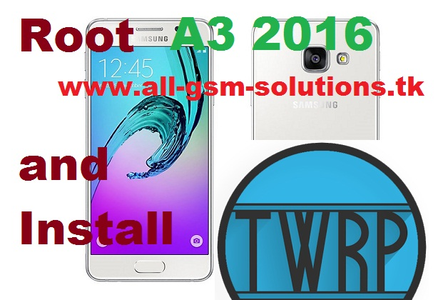 Android Xrom Root And Install Twrp On Samsung Galaxy A3 – Dibujos