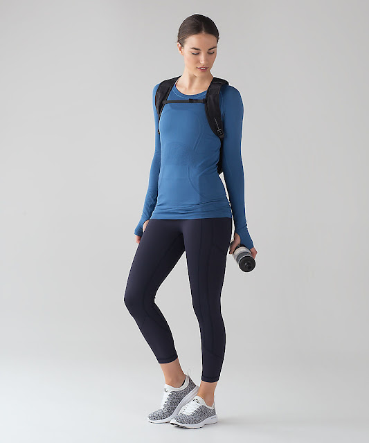 lululemon royal-blue swiftly-ls