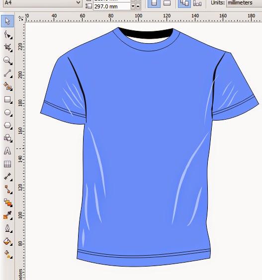 Cara Membuat Design Baju Distro