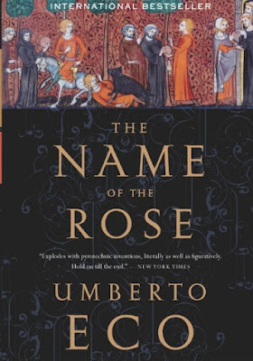 The Name of the Rose by Umberto Eco - book cover
