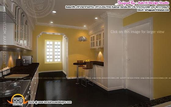 Kitchen interior view 2