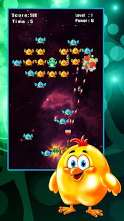 Chicken Shooter: Space Defense Apk v1.1 (Mod Money)