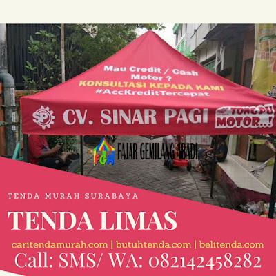 Tenda Murah Surabaya- Tenda Limas Surabaya