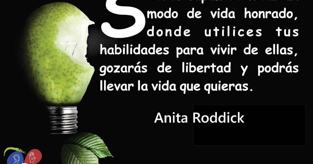 Consentido Frases De Anita Roddick The Body Shop