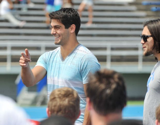 jimmy garoppolo girlfriend - Jimmy Garoppolo (@JimmyG_10) Twitter