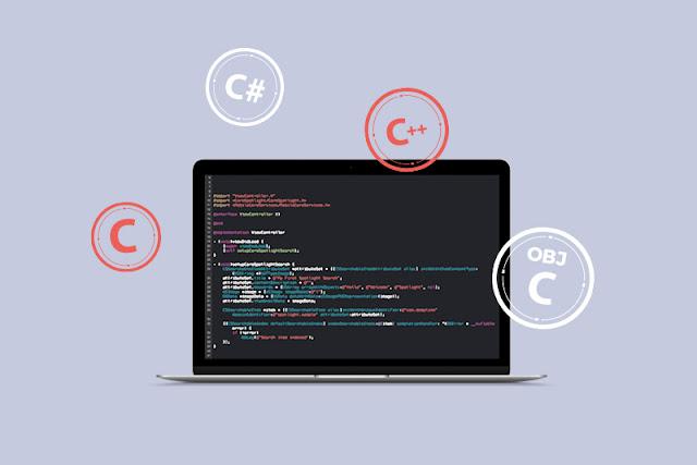 الفرق بين لغة البرمجة C و C ++ و Object-C و C #
