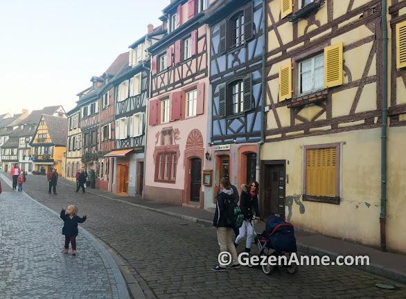Colmar çocuklar için masal gibi bir yer, Fransa