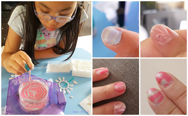 Project MC2, Nail Art Water Marbelling, Nail Art for Kids