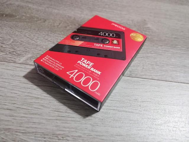 Batería retro powerbank casette