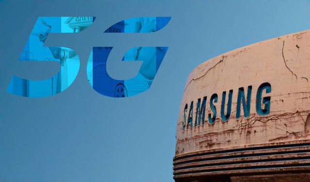 شركة سامسونج تفتخر بأنها تقود طريق الجيل الخامس في كوريا الجنوبية
