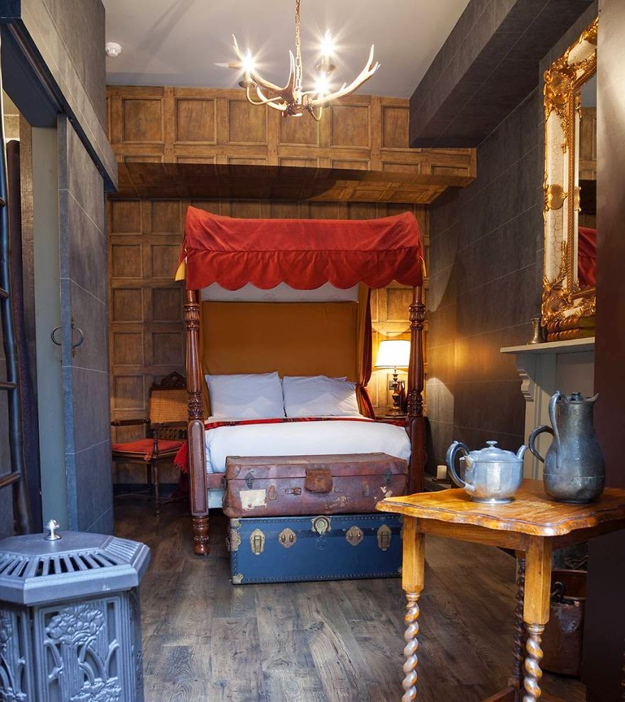 6. Harry Potter Hotel, London - 26 Of The Coolest Hotels In The Whole Wide World