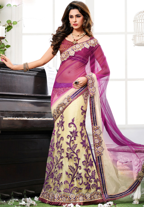 foto sari india modern