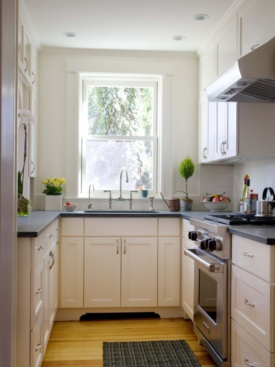 refresheddesigns making a small galley kitchen work