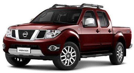 2015 Nissan Frontier Redesign SPY Shots