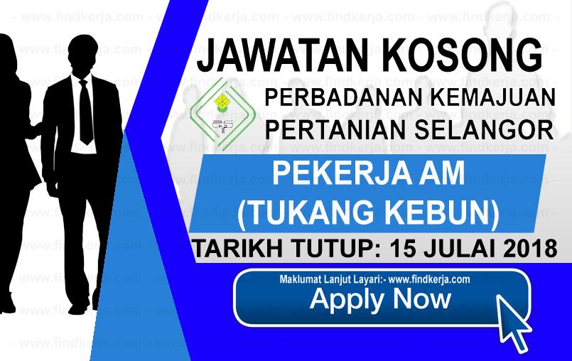 Jawatan Kerja Kosong PKPS - Perbadanan Kemajuan Pertanian Selangor logo www.findkerja.com julai 2018