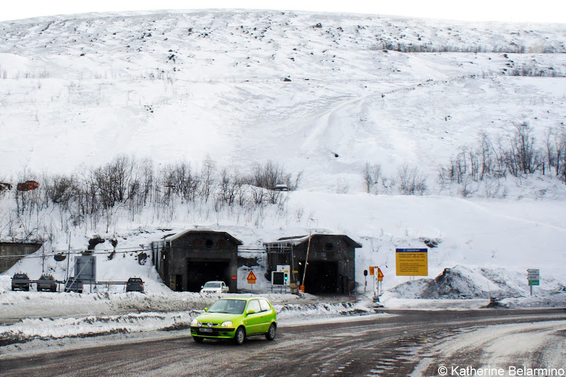 Kiruna Mine Entrance Sweden
