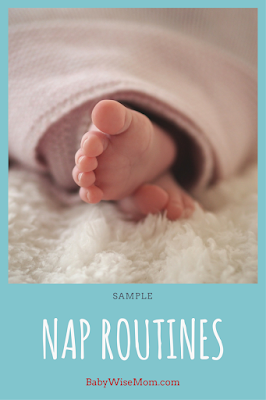 Ideas for successful nap routines to get your baby to sleep well.