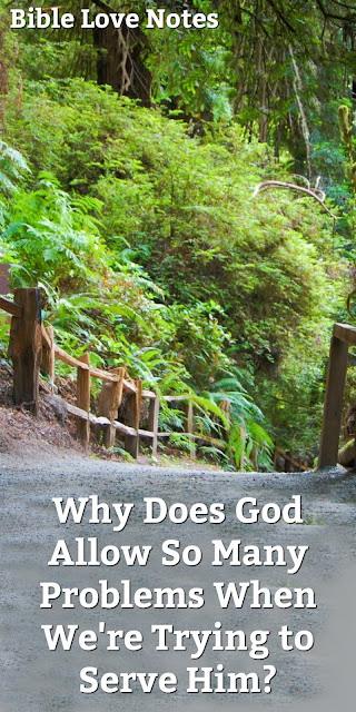 Why Did God Allow This to Happen?  This 1-minute devotion offers several important examples and addresses the question of why bad things happen to good people.  #BibleLoveNotes #Bible