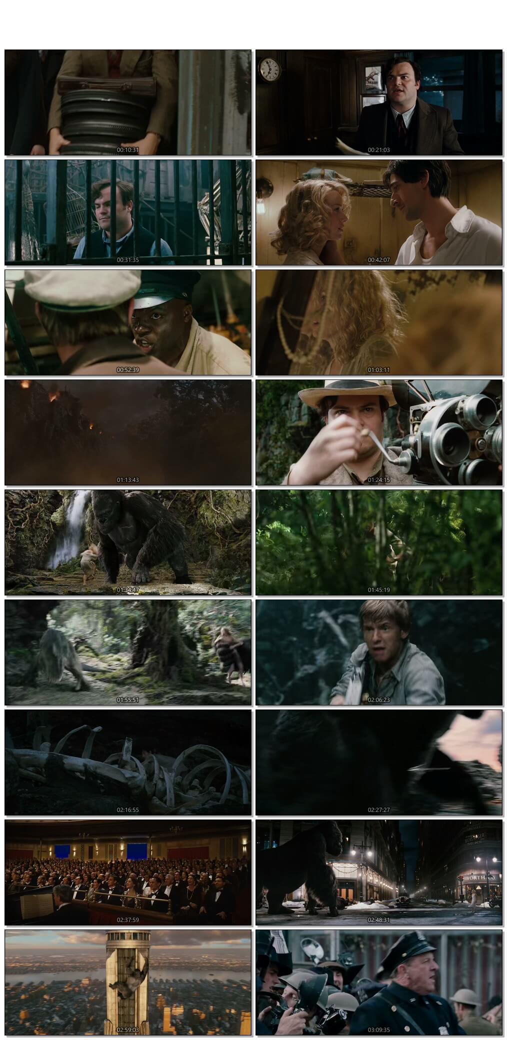 Screen Shot Of King Kong 2005 In Hindi English Dual Audio Bluray