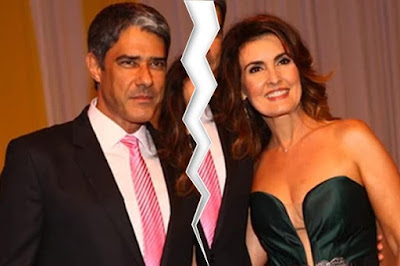William Bonner e Fátima Bernardes se separaram divorcio fim do casamento termino acabou