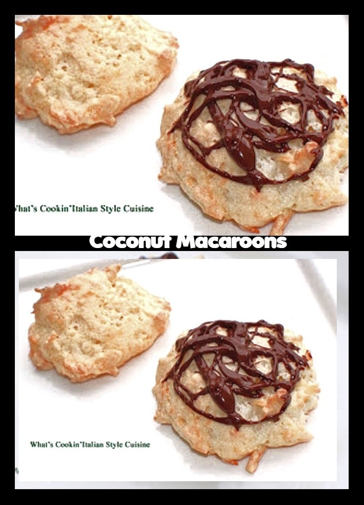 Mom's Easter Coconut Macaroon Cookies