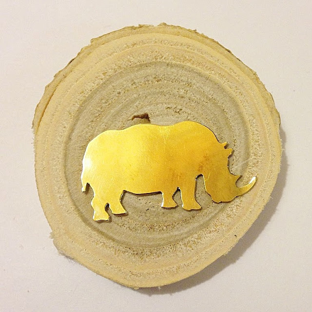 broche con forma de animal realizados por Le Voilá