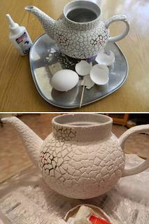 Yumurta Kabukları ile Mozaik Süsleme Yapımı 3