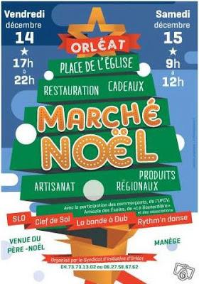 Marché de Noël 2012, Orléat