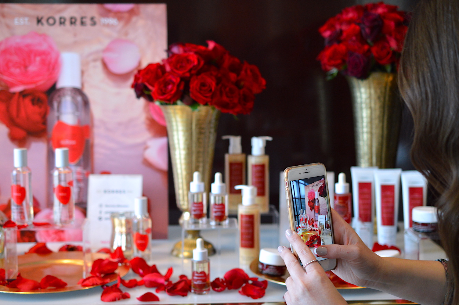KORRES rose review