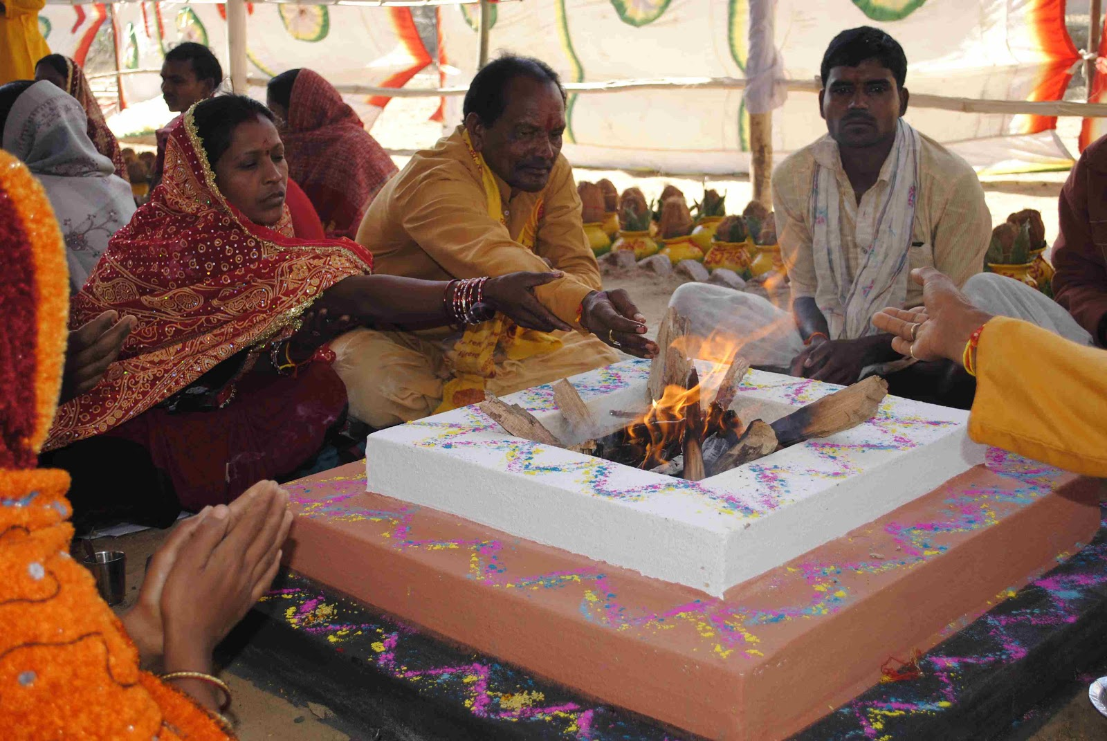 Science Doing: The Vedic god: Agni