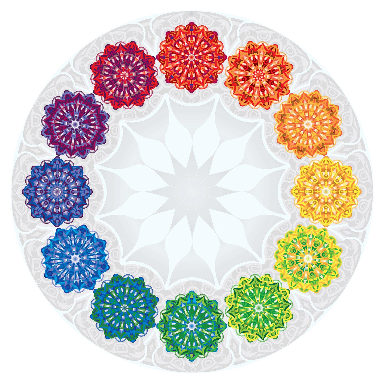Mandala Bunte Therapiemethoden