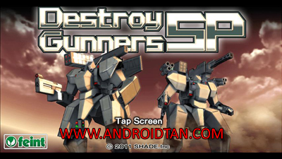 Download Destroy Gunners SP Mod Apk v1.2 (Unlimited Money) Terbaru 2017