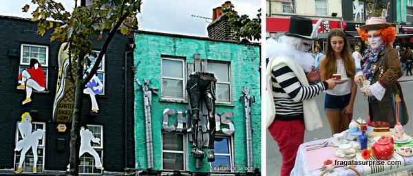 Londres - Mercados de Camden Town